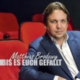 Matthias Brodowy - Bis es euch gefällt (Liveprogramm, 2CD) Cover © ROOF Records