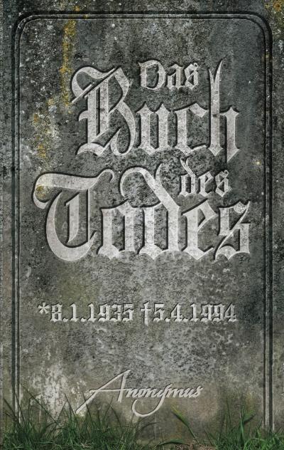 Anonymus – Das Buch des Todes (Buch)
