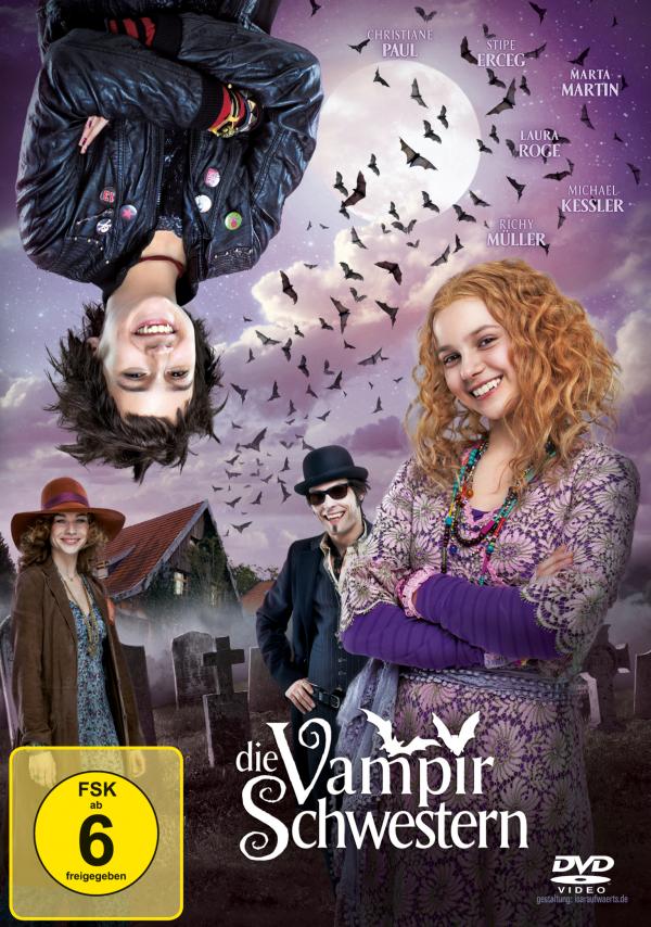 Die Vampirschwestern (Spielfilm, DVD/Blu-Ray)