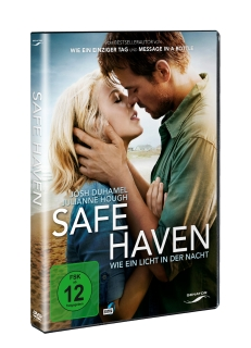 Safe Haven DVD 3D Packshot ® Universum Film/Senator