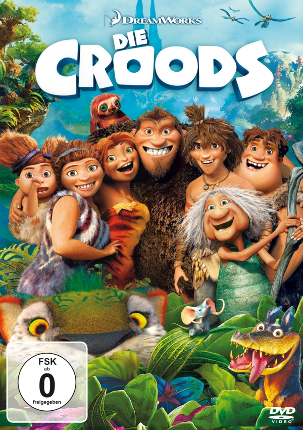 Die Croods (Animationsfilm, DVD/Blu-Ray/Blu-Ray 3D)