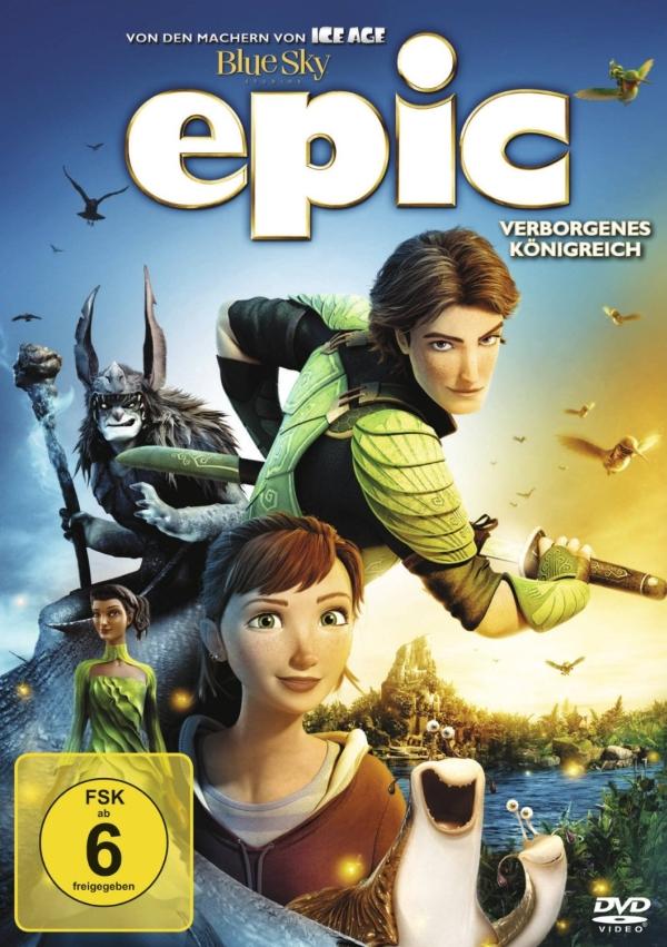Epic – Verborgenes Königreich (Animationsfilm, DVD/Blu-Ray)