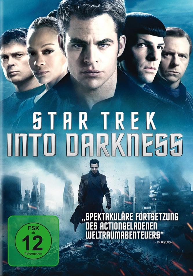Vier Augen sehen mehr: Star Trek – Into Darkness (Spielfilm, DVD/Blu-Ray)