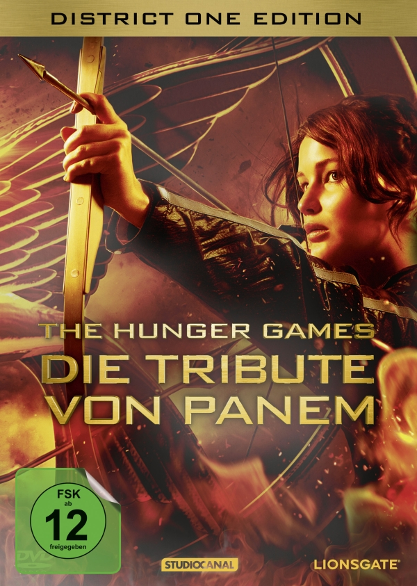 Die tribute von panem the hunger games district one edition steelbook spielfilm 2dvd for Die tribute von panem 2