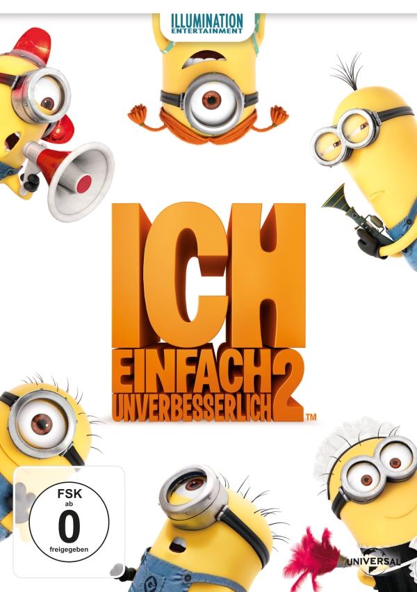 Ich – Einfach unverbesserlich 2 (Animationsfilm, DVD/Blu-Ray/3D-Blu-Ray)