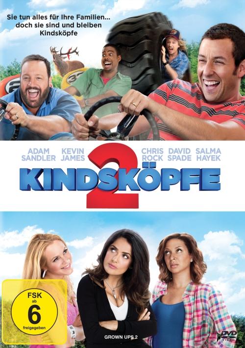 Kindsköpfe 2 (Spielfilm, DVD/Blu-Ray)
