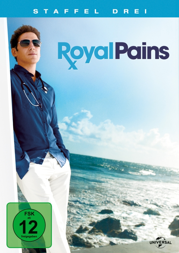 Royal Pains – Staffel 3 (TV-Serie, 4DVD)