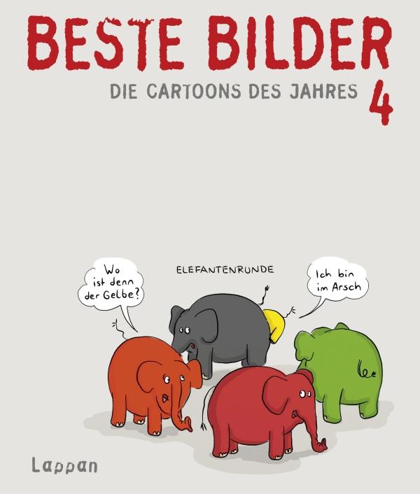 Wolfgang Kleinert & Dieter Schwalm – Beste Bilder – Die Cartoons des Jahres 4 (Buch)