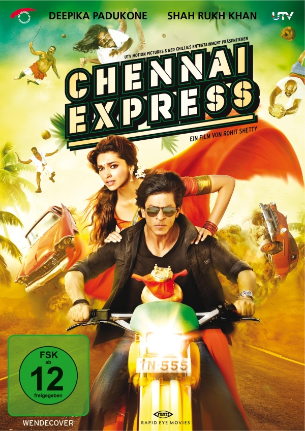 Chennai Express (Spielfilm, DVD/2DVD/Blu-Ray)
