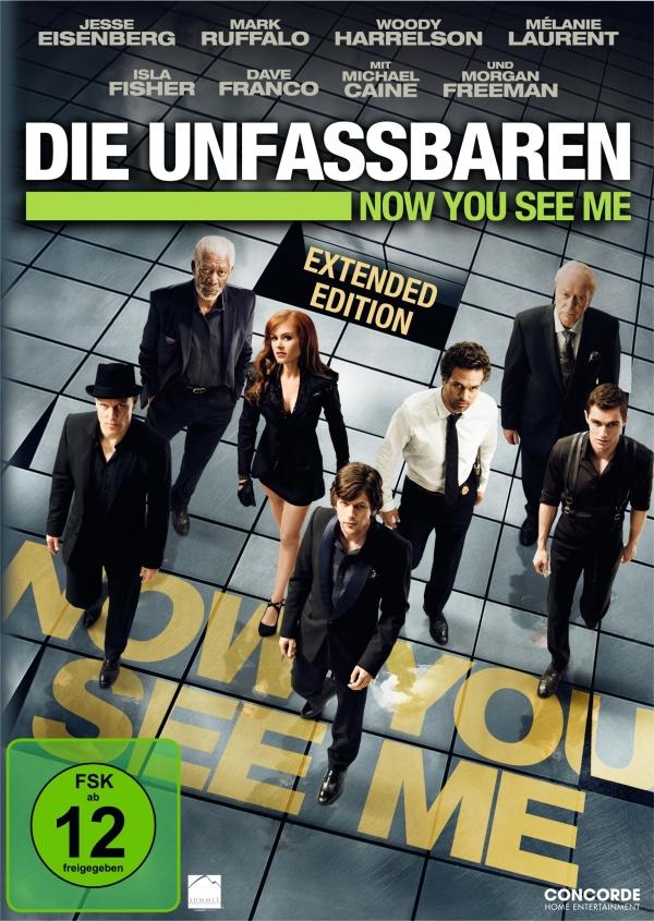 Die Unfassbaren – Now You See Me (Spielfilm, DVD/Blu-Ray)