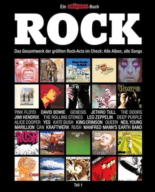eclipsed (Hrsg.) – Rock, Teil 1 (Buch)
