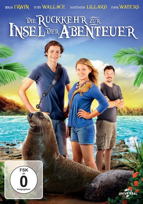 Die Rückkehr zur Insel der Abenteuer (Spielfilm, DVD)