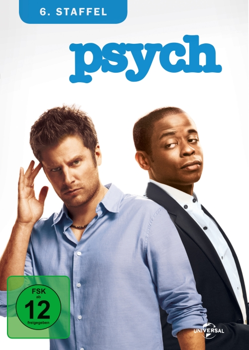psych – Staffel 6 (TV-Serie, 4DVD)