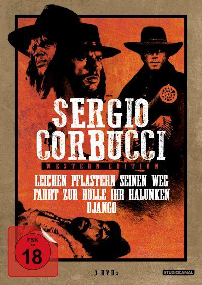 Sergio Corbucci Western-Edition (Spielfilme, 3DVD)