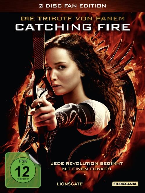 Die Tribute von Panem – Catching Fire (Spielfilm, DVD/Blu-Ray)