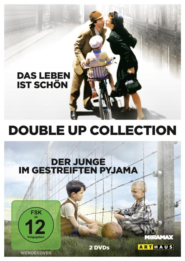 Das Leben ist schön/Der Junge im gestreiften Pyjama (Double Up-Collection, Spielfilme, 2DVD/2 Blu-Ray)