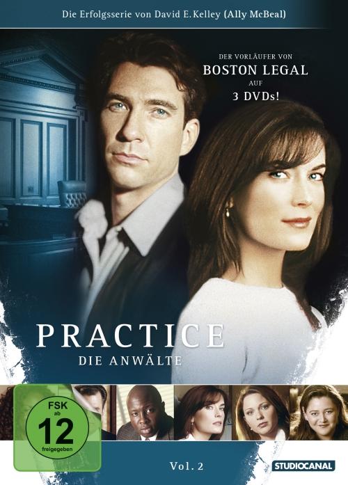 Practice – Die Anwälte Vol. 2 + 3 (Serie, je 3DVD)