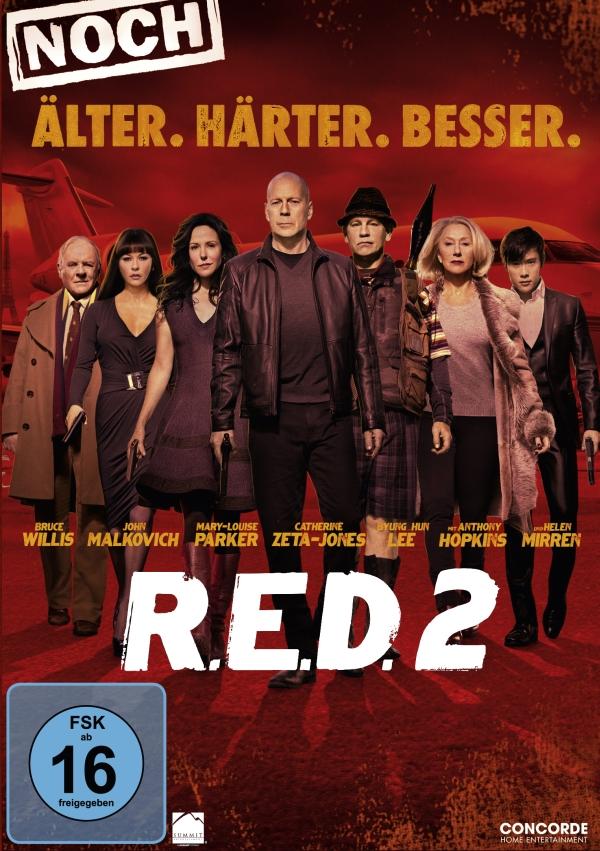 R.E.D. 2 – Noch älter. Härter. Besser. (Spielfilm, DVD/Blu-Ray)