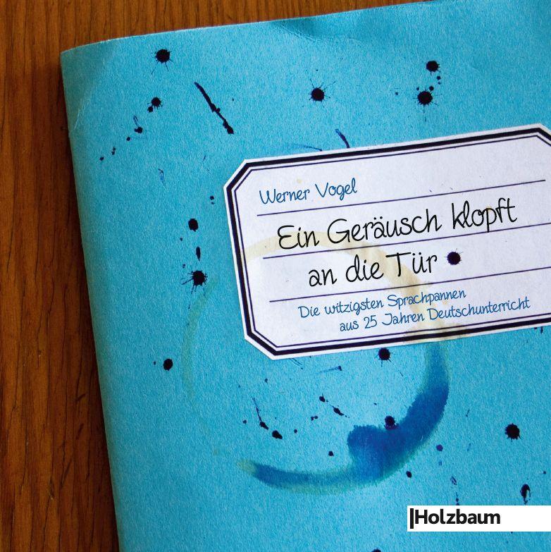 Werner Vogel – Ein Geräusch klopft an die Tür (Buch)