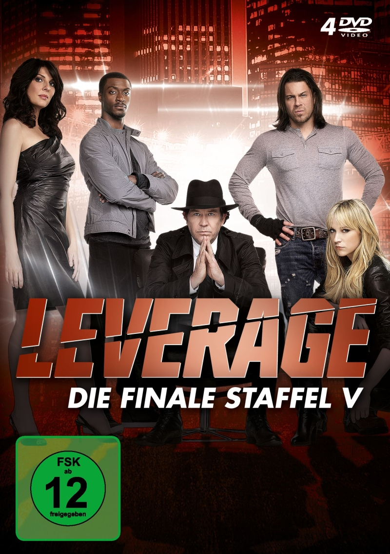 Leverage – Staffel 5 (TV-Serie, DVD/Blu-Ray)