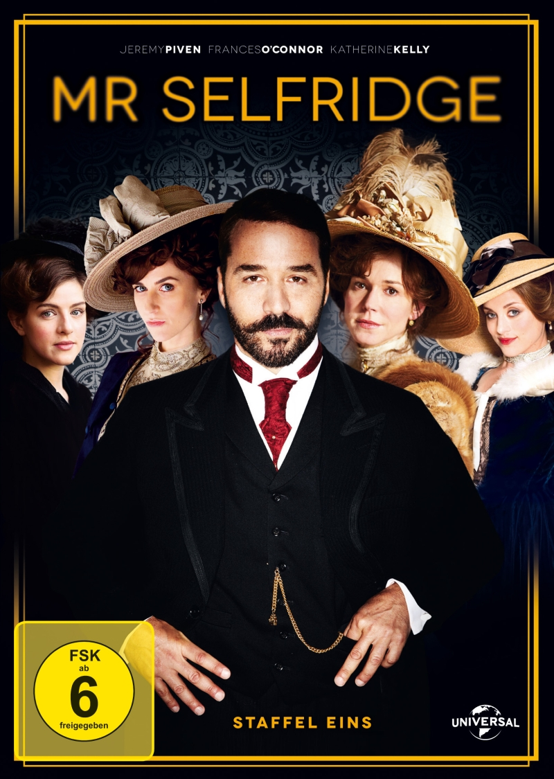 Mr Selfridge – Staffel 1 (TV-Serie, 3DVD)