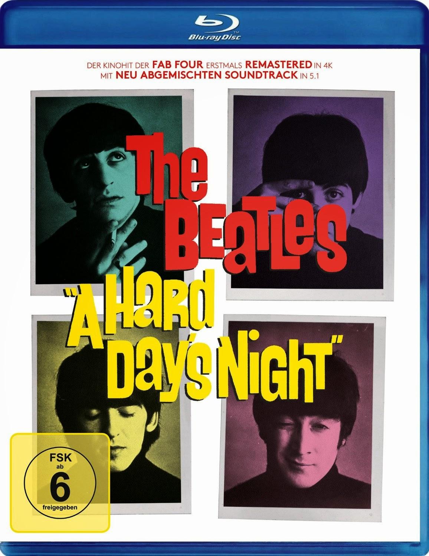 A Hard Day's Night (Spielfilm, Blu-Ray)