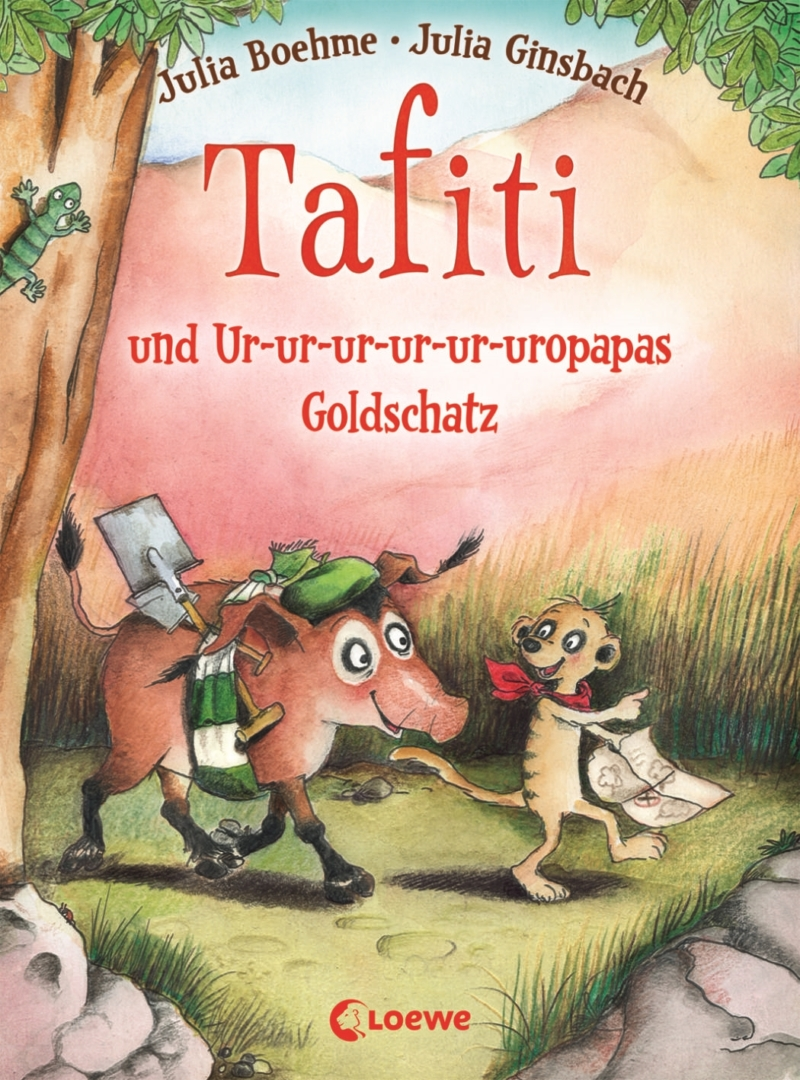 Julia Boehme & Julia Ginsbach – Tafiti #4: Tafiti und Ur-ur-ur-ur-ur-uropapas Goldschatz (Buch)