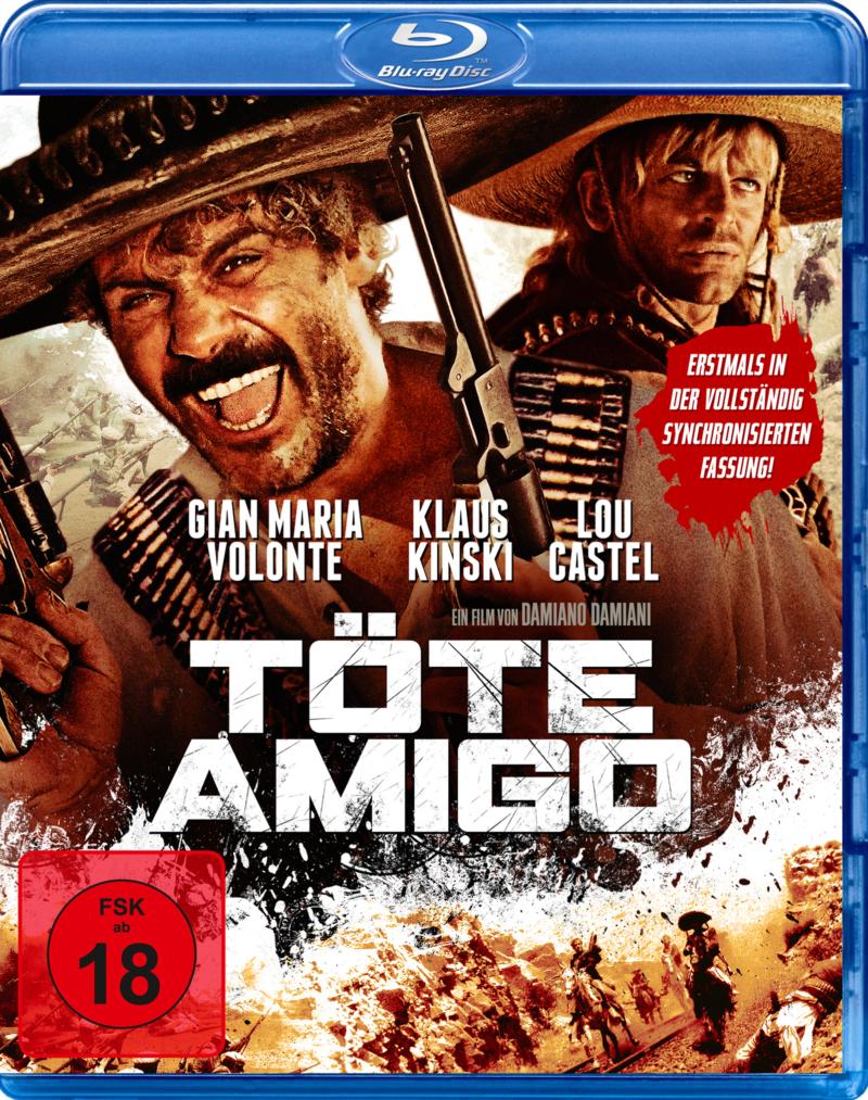 Töte Amigo (Spielfilm, DVD/Blu-Ray)