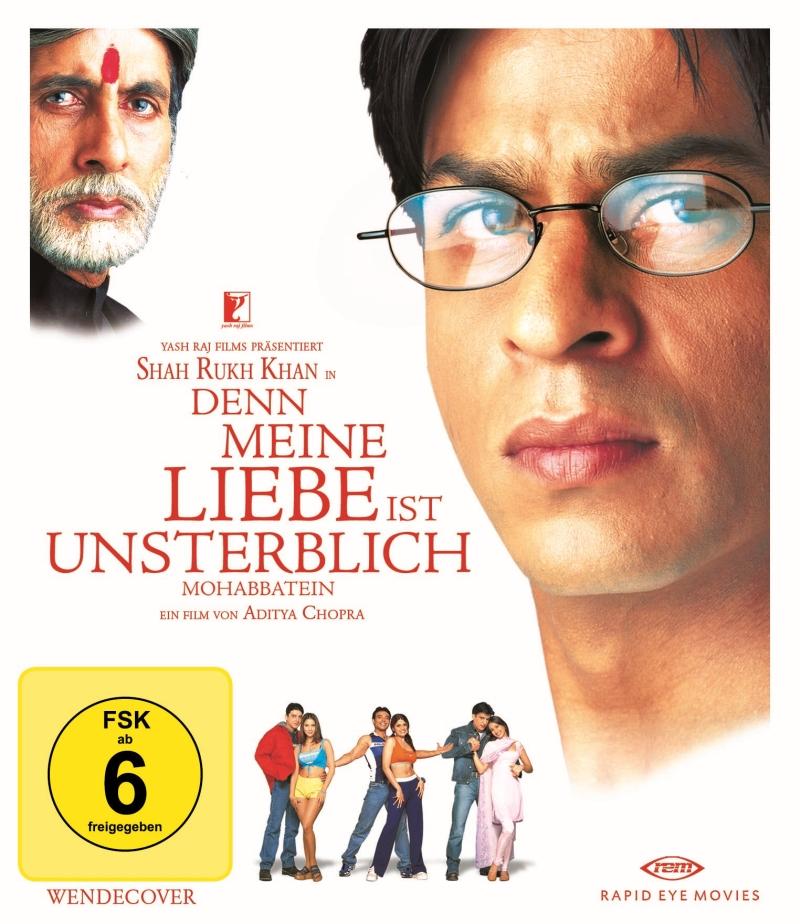 Mohabbatein – Denn meine Liebe ist unsterblich (Spielfilm, Blu-Ray-Ausgabe)