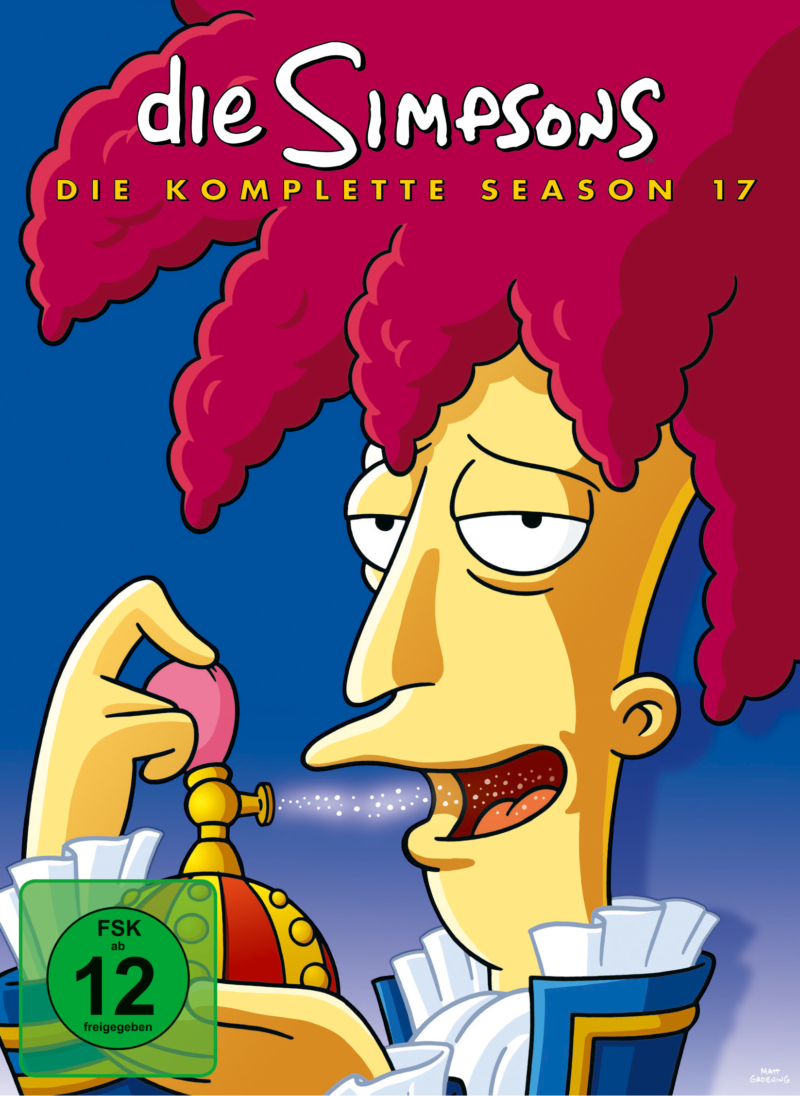 The Simpsons – Staffel 17 (Serie, 4DVD)