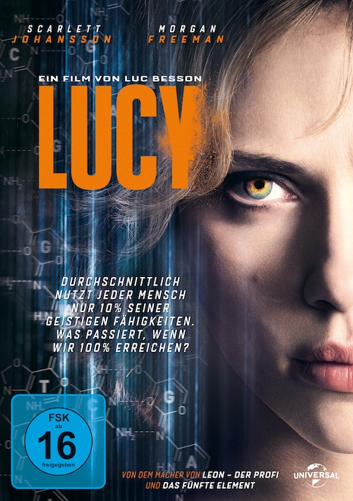 Lucy (Film, DVD/Blu-ray)