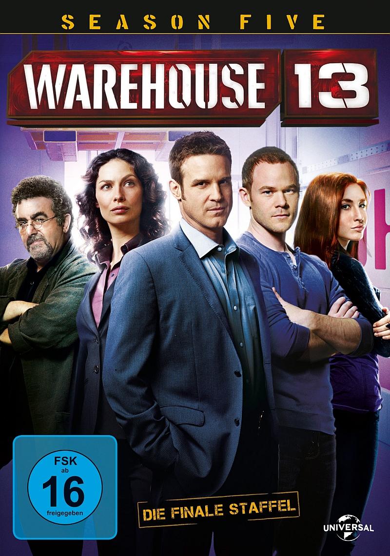 Warehouse 13 – Staffel 5 (Serie, 2DVD)