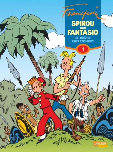 André Franquin – Spirou und Fantasio Gesamtausgabe, Band 1: Die Anfänge eines Zeichners (Comic)