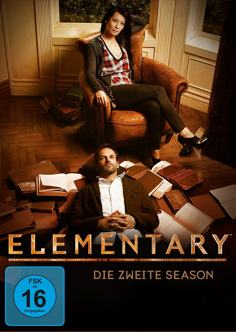 Elementary – Staffel 2 (Serie, 6DVD)