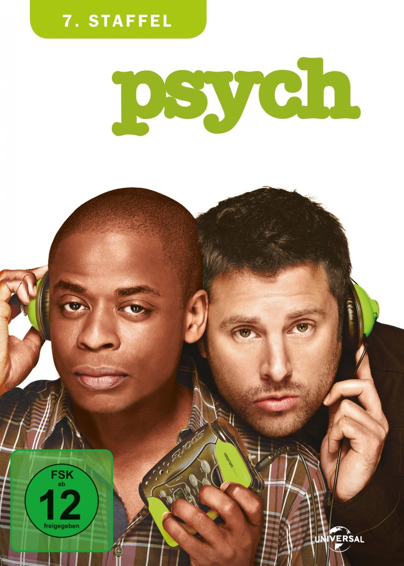 psych – Staffel 7 (Serie, 4DVD)