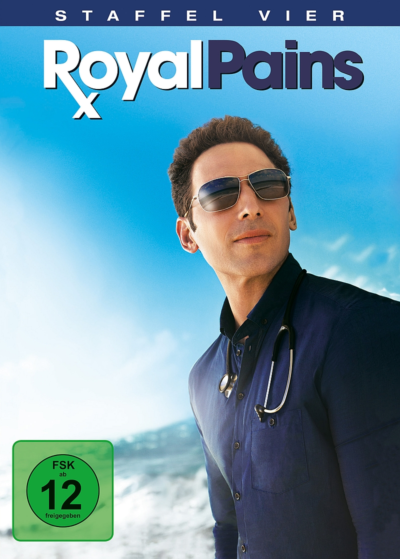 Royal Pains – Staffel 4 (TV-Serie, 4DVD)