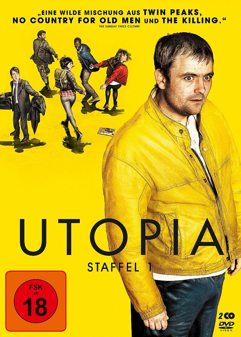 Utopia – Staffel 1 (Serie, 2DVD/2BD)