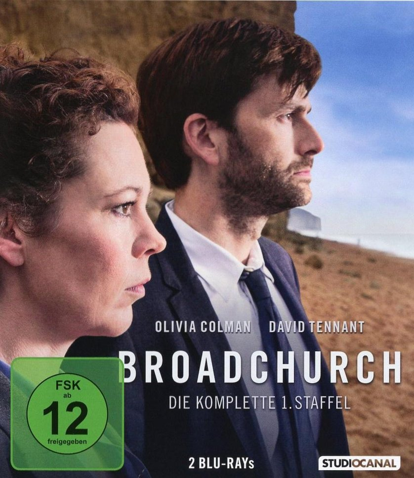 Broadchurch – Staffel 1 (TV-Serie, 3DVD/2BD)