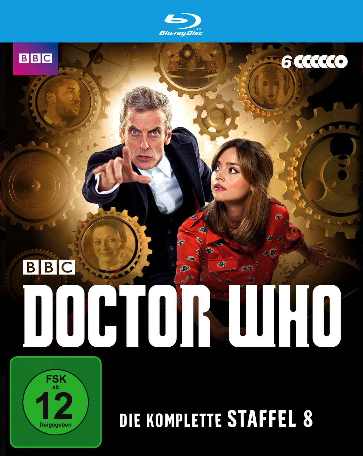 Doctor Who – Die komplette Staffel 8 (TV-Serie, DVD/Blu-Ray)