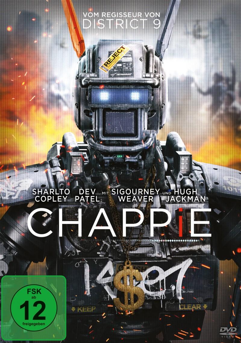 Chappie (Spielfilm, DVD/Blu-ray)