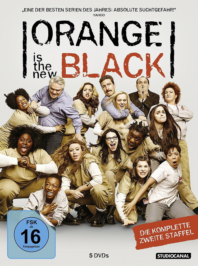 Orange Is The New Black – Staffel 2 (Serie, 5DVD/4BD)