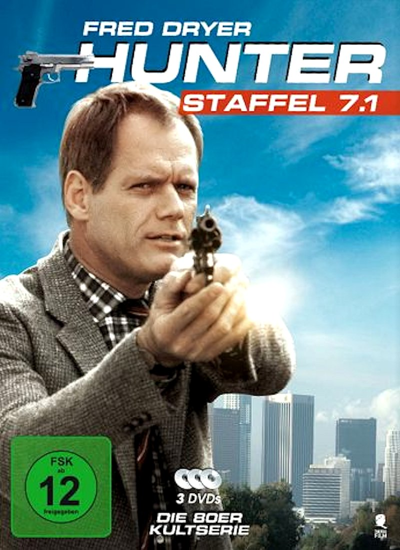Hunter – Staffeln 5 – 7 (TV-Serie, DVD)