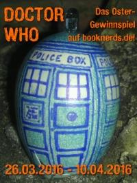 Doctor Who - TARDIS-Ei © Klara-Maria Eberle