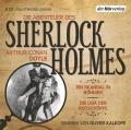 Arthur Conan Doyle – Die Abenteuer des Sherlock Holmes, Folge 1 (Hörbuch, gelesen von Oliver Kalkofe)