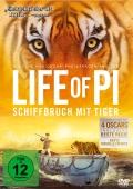 Life Of Pi – Schiffbruch mit Tiger (Spielfilm, DVD/Blu-Ray)