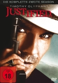 Justified - Staffel 2 - (Serie, 3DVD) Cover © Sony Pictures