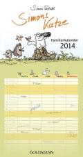 Simon Tofield - Simons Katze Familienkalender 2014