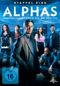 Alphas Staffel 1 (DVD) Cover © Universal Pictures