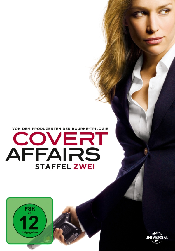 Covert Affairs – Staffel 2 (Serie, 4DVD)