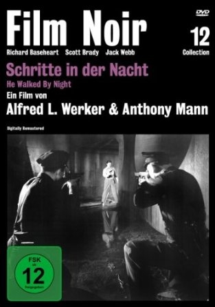 Schritte in der Nacht – Film Noir Collection #12 (Spielfilm, DVD)